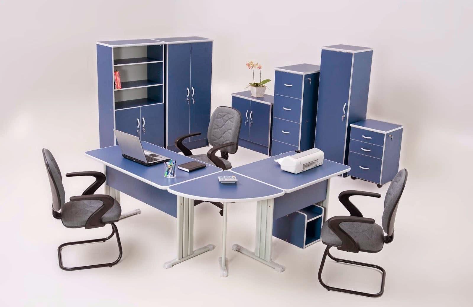 Fotos de Escritórios Modernos Escritórios Modernos #3D496C 1600x1040