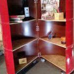 Modelo de tambor decorativo com armário
