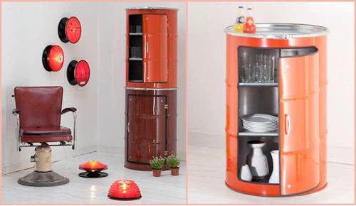tambor decorativo de armario